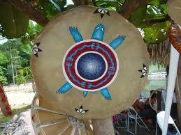 Cercle de tambour avec Frederique Croquelois dans developpement personnel